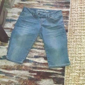 American Eagle Bermuda Retro Shorts, Size 8 Reg